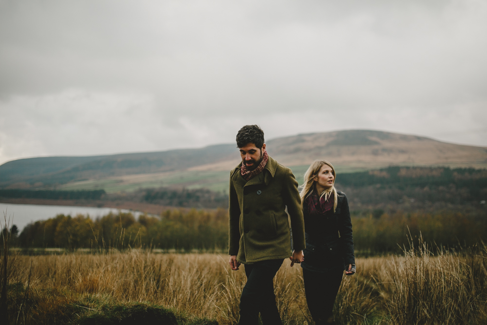 Derbyshire engagement session