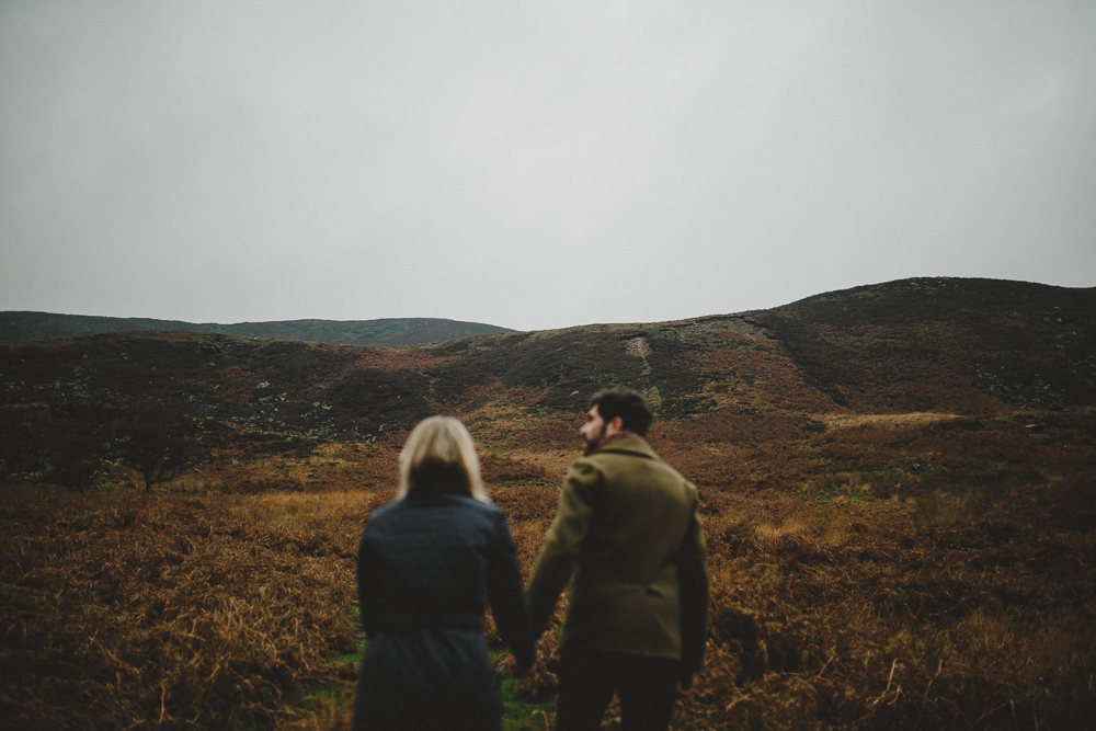 Peak District engagement session