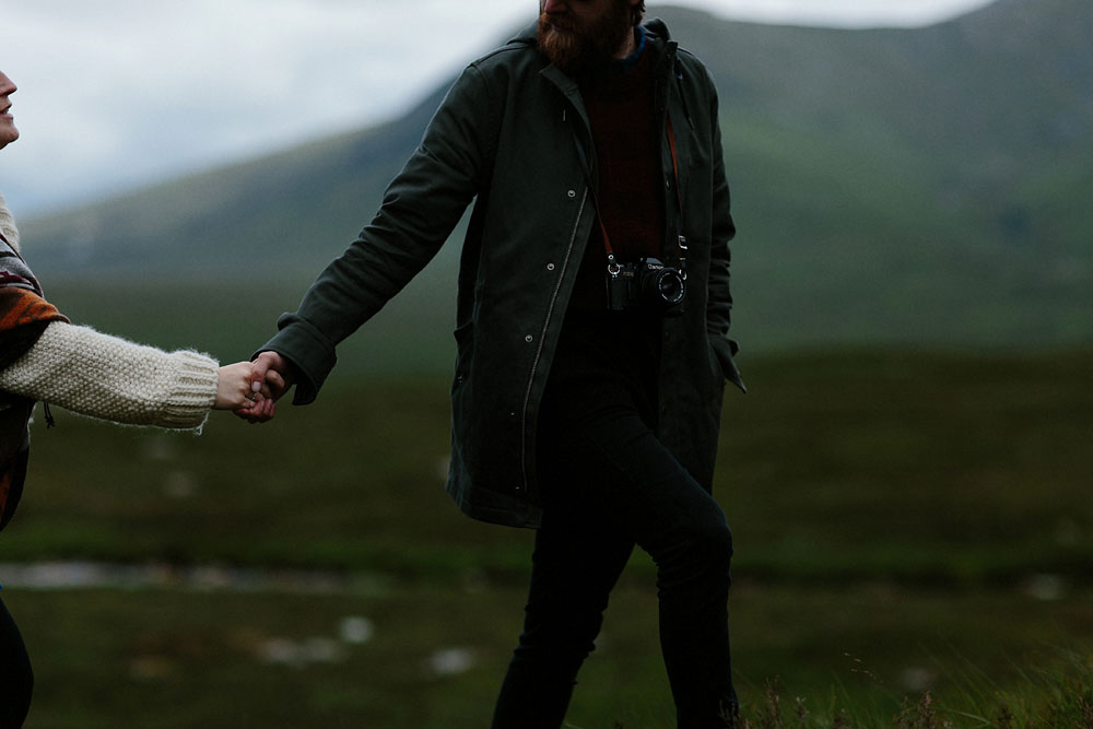 Glencoe elopement photographer
