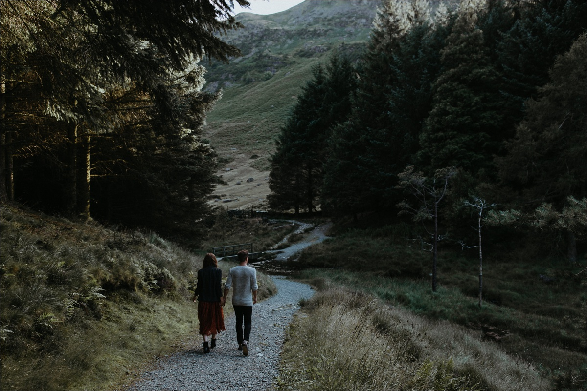 Lake District Pre Wedding Session