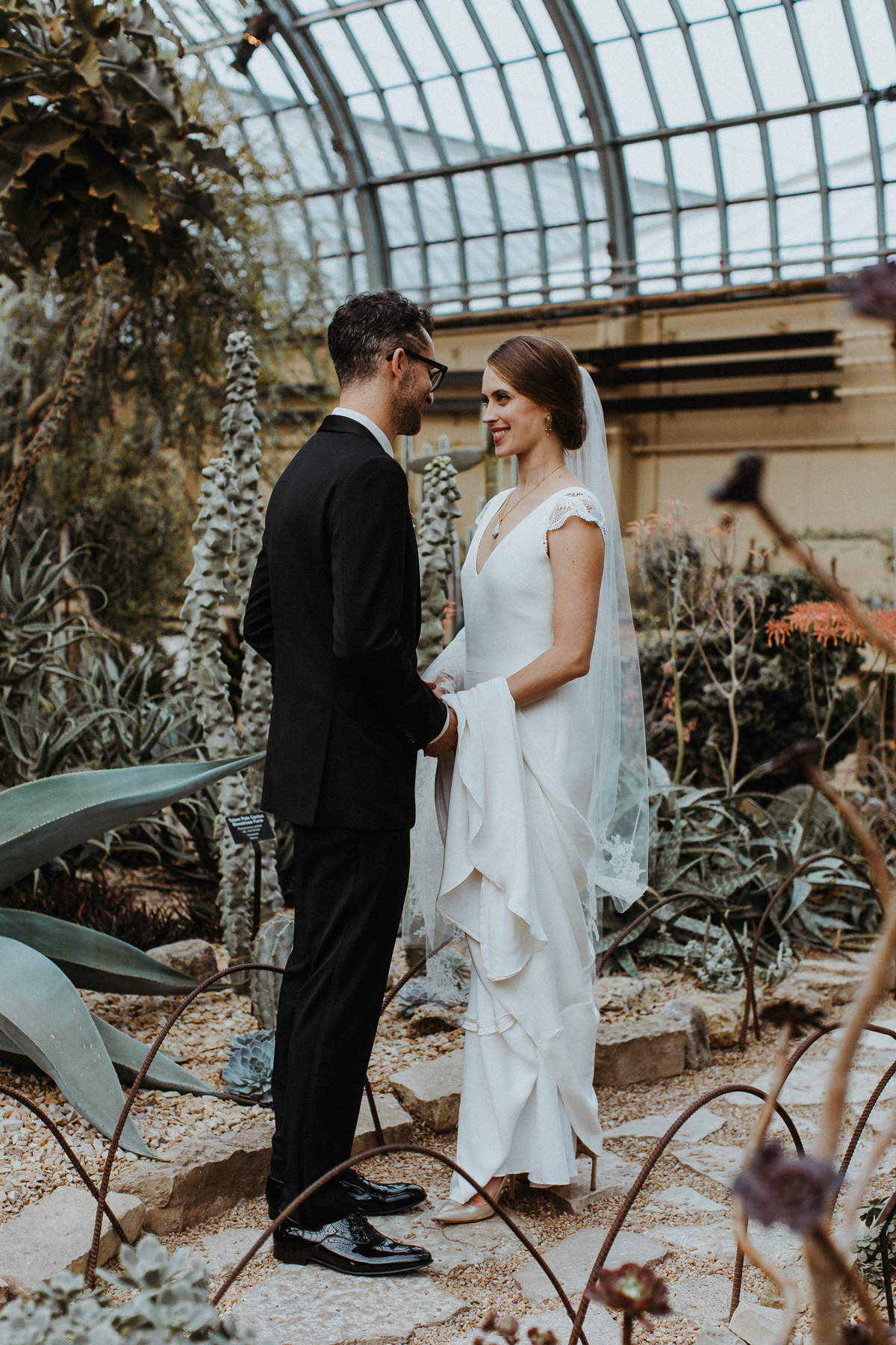 Garfield Park Conservatory Wedding, Chicago
