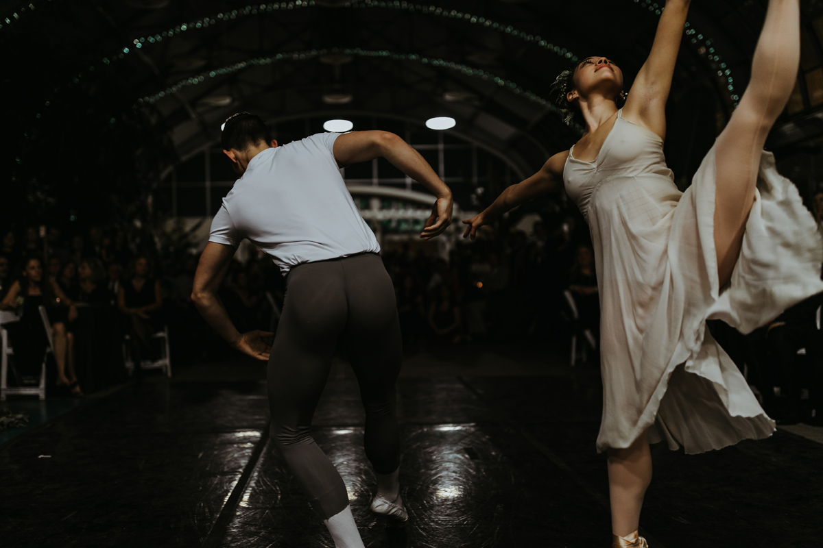 Ballet Dancer Wedding
